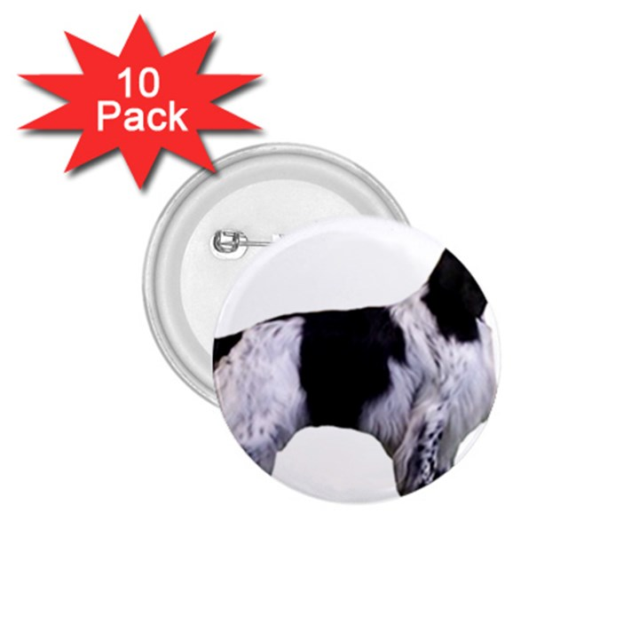 English Setter Full 1.75  Buttons (10 pack)