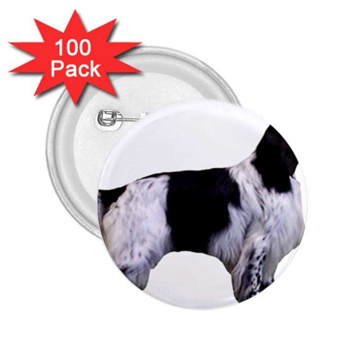 English Setter Full 2.25  Buttons (100 pack)