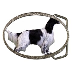 English Setter Full Belt Buckles