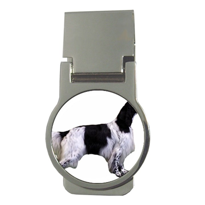 English Setter Full Money Clips (Round)