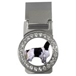 English Setter Full Money Clips (CZ)  Front
