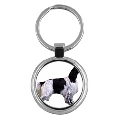 English Setter Full Key Chains (Round)