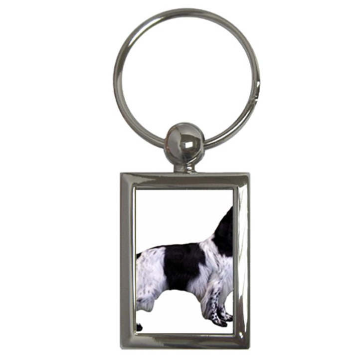English Setter Full Key Chains (Rectangle)
