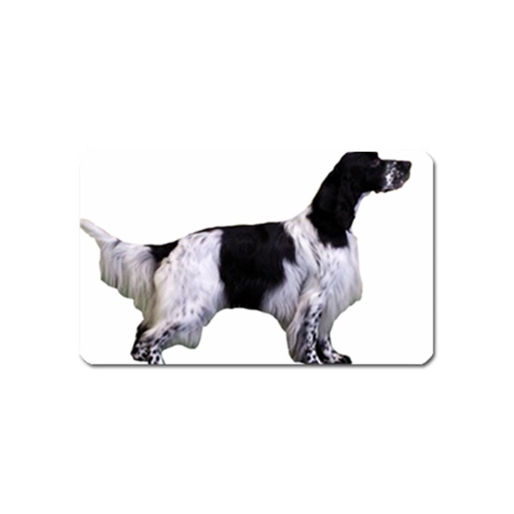 English Setter Full Magnet (Name Card)