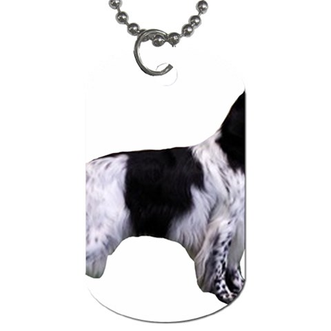 English Setter Full Dog Tag (One Side)