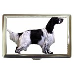 English Setter Full Cigarette Money Cases Front