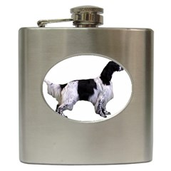 English Setter Full Hip Flask (6 oz)