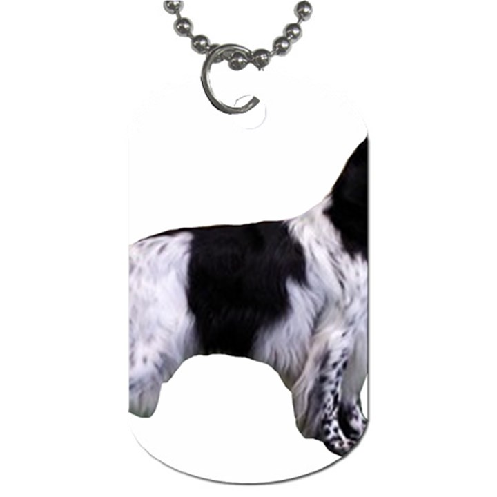 English Setter Full Dog Tag (Two Sides)