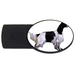 English Setter Full USB Flash Drive Oval (1 GB)