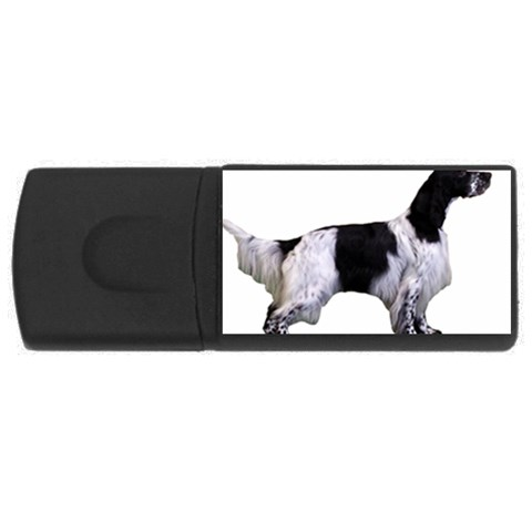 English Setter Full USB Flash Drive Rectangular (1 GB)