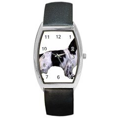 English Setter Full Barrel Style Metal Watch