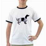 English Setter Full Ringer T-Shirts Front