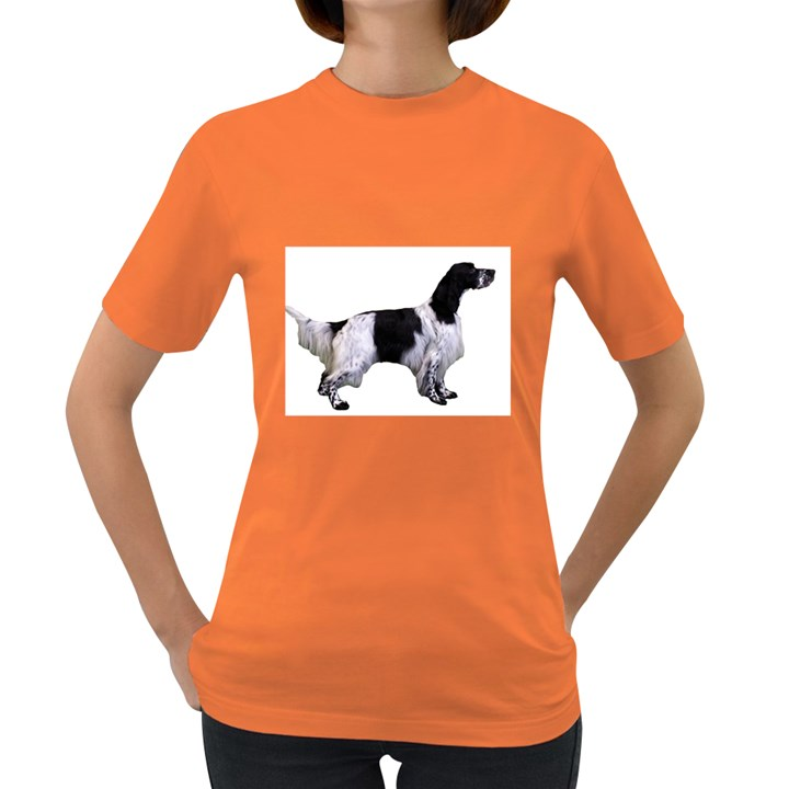 English Setter Full Women s Dark T-Shirt