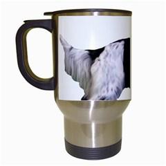 English Setter Full Travel Mugs (White)