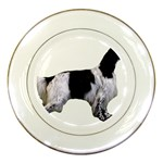 English Setter Full Porcelain Plates Front