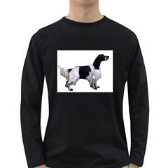 English Setter Full Long Sleeve Dark T-Shirts
