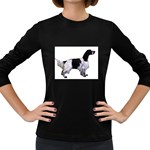 English Setter Full Women s Long Sleeve Dark T-Shirts Front