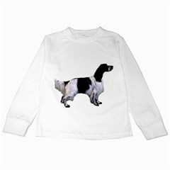 English Setter Full Kids Long Sleeve T-Shirts