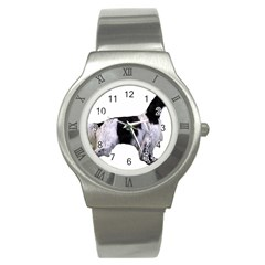 English Setter Full Stainless Steel Watch