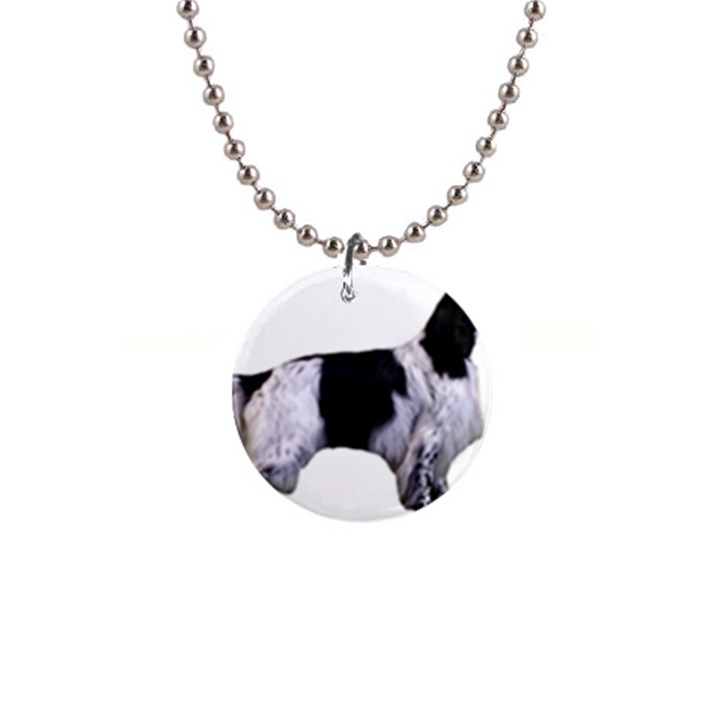 English Setter Full Button Necklaces