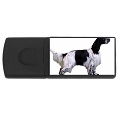 English Setter Full USB Flash Drive Rectangular (4 GB)