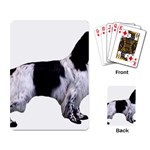 English Setter Full Playing Card Back