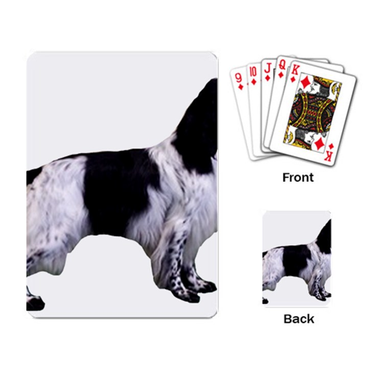 English Setter Full Playing Card