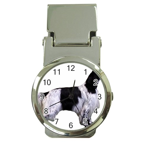 English Setter Full Money Clip Watches