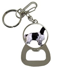 English Setter Full Bottle Opener Key Chains
