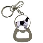 English Setter Full Bottle Opener Key Chains Front
