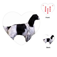 English Setter Full Playing Cards (Heart)