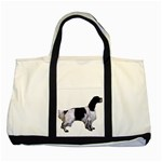 English Setter Full Two Tone Tote Bag Front