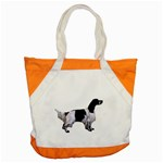 English Setter Full Accent Tote Bag Front