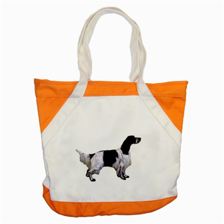 English Setter Full Accent Tote Bag