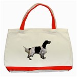 English Setter Full Classic Tote Bag (Red) Front