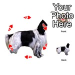 English Setter Full Playing Cards 54 (Round)  Front - Heart4