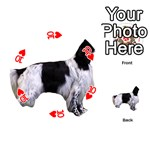 English Setter Full Playing Cards 54 (Round)  Front - Heart10