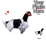 English Setter Full Playing Cards 54 (Heart)  Front - Heart3
