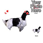 English Setter Full Playing Cards 54 (Heart)  Front - Heart6