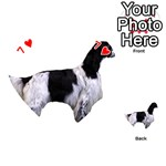 English Setter Full Playing Cards 54 (Heart)  Front - Heart7
