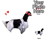 English Setter Full Playing Cards 54 (Heart)  Front - Heart8