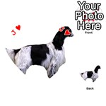 English Setter Full Playing Cards 54 (Heart)  Front - HeartJ