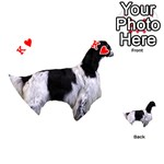 English Setter Full Playing Cards 54 (Heart)  Front - HeartK