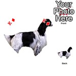 English Setter Full Playing Cards 54 (Heart)  Front - DiamondK
