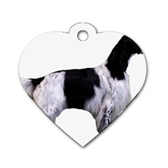 English Setter Full Dog Tag Heart (Two Sides)
