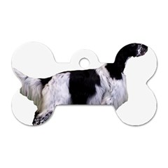 English Setter Full Dog Tag Bone (One Side)