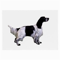 English Setter Full Large Glasses Cloth