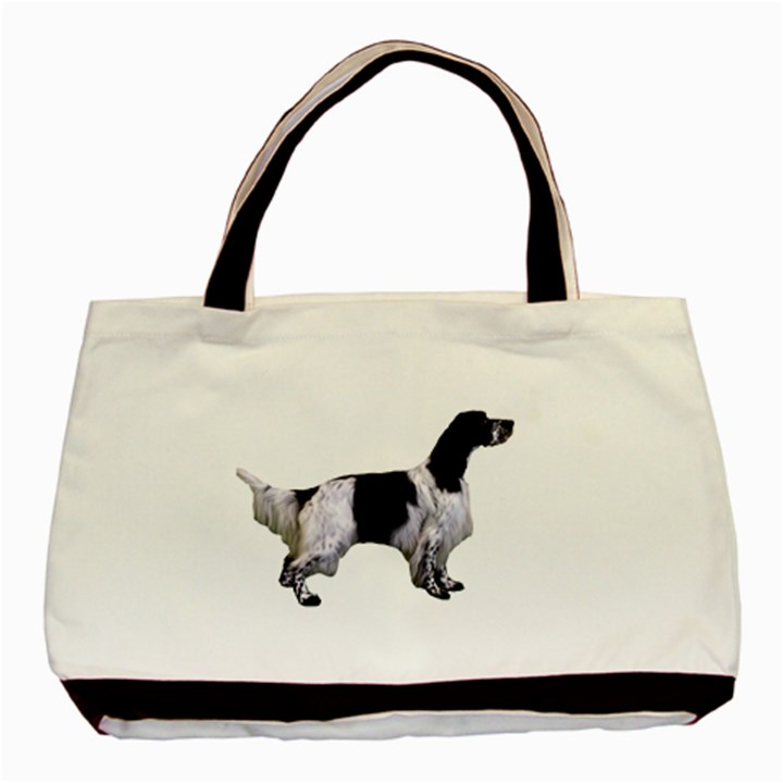 English Setter Full Basic Tote Bag (Two Sides)