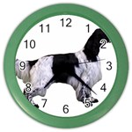 English Setter Full Color Wall Clocks Front
