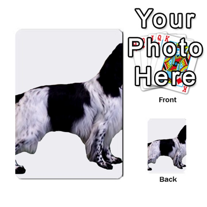 English Setter Full Multi-purpose Cards (Rectangle)